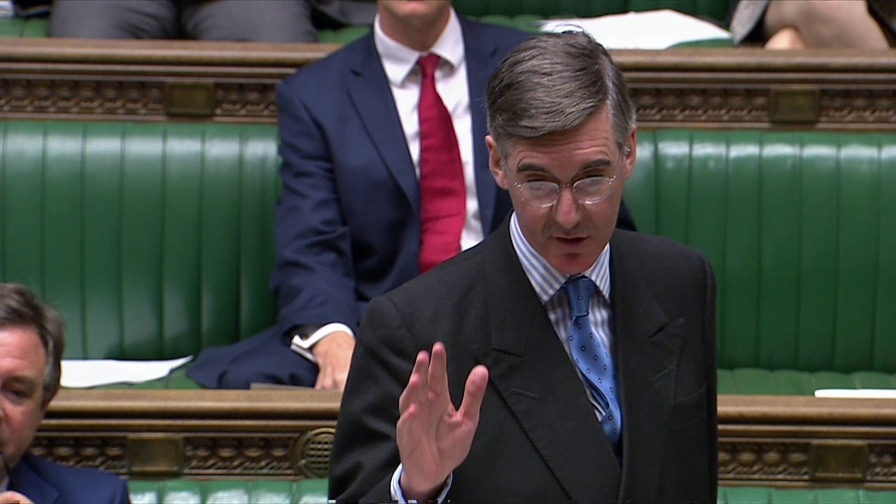 Jacob Rees-Mogg: Dr Nicholl as irresponsible as Dr Wakefield