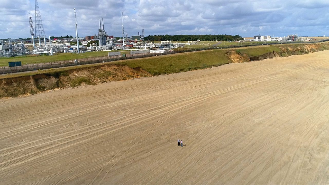 Bacton and Walcott sandscaping project key to protecting east coast