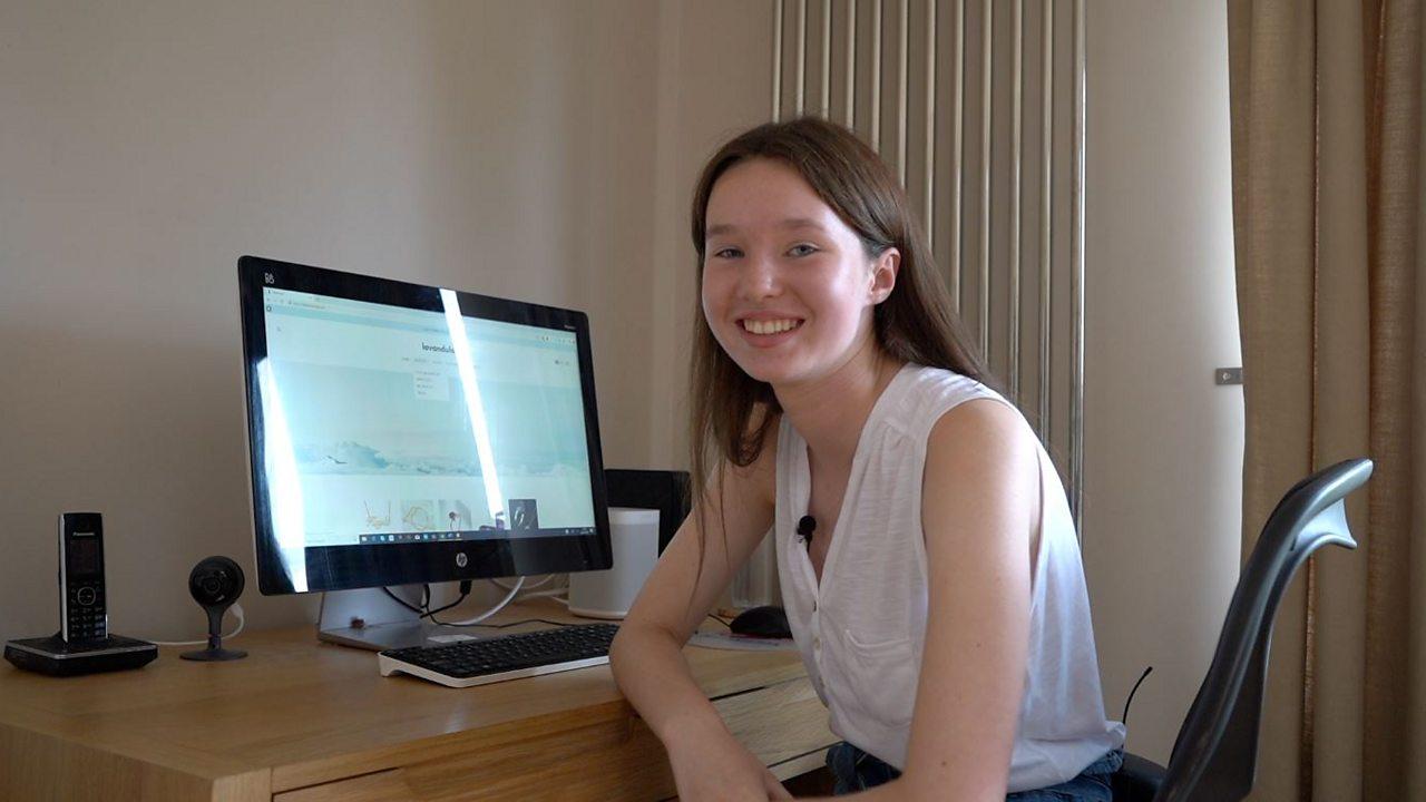 The London schoolgirl running her own e-commerce business