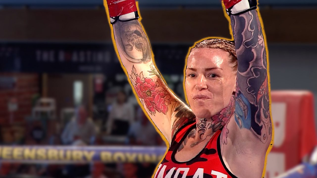 Bournemouth mum takes up boxing to improve mental health