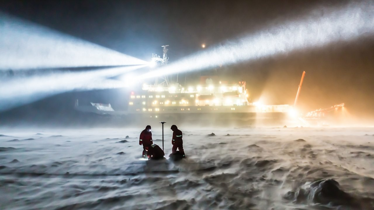 A 'science city' on the Arctic sea-ice