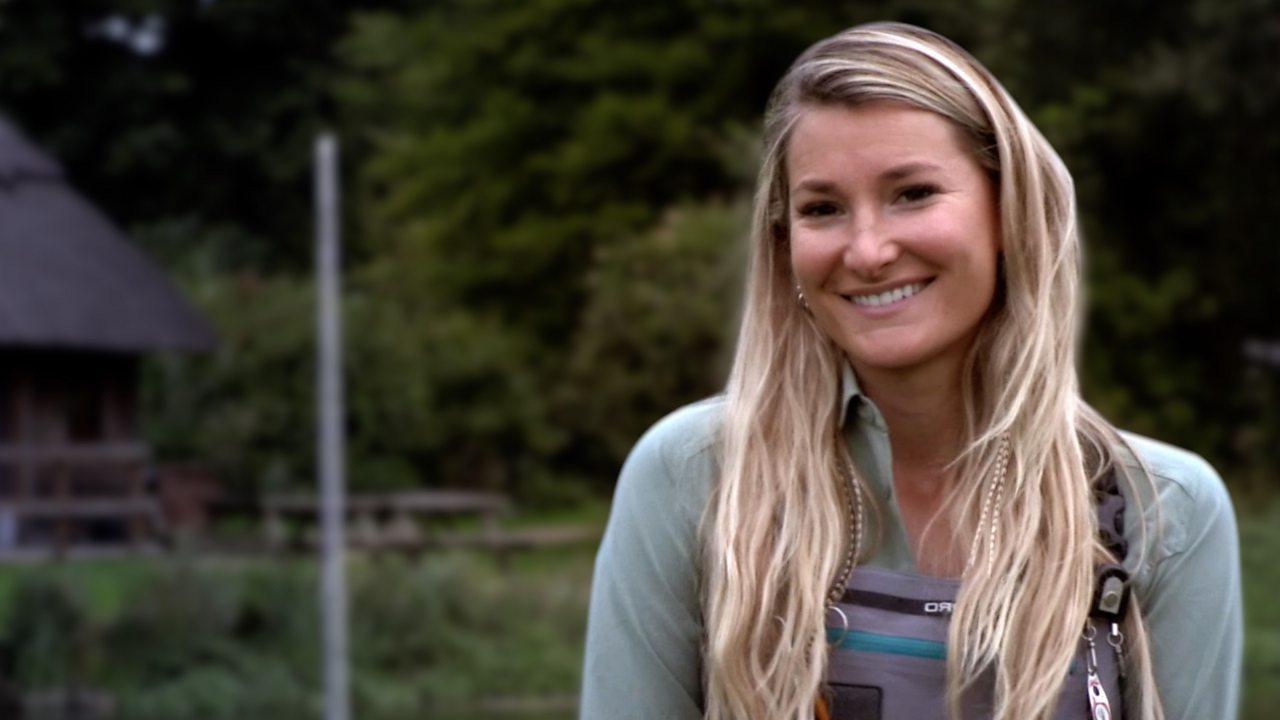 Hampshire angler Marina Gibson highlights prejudice in fishing