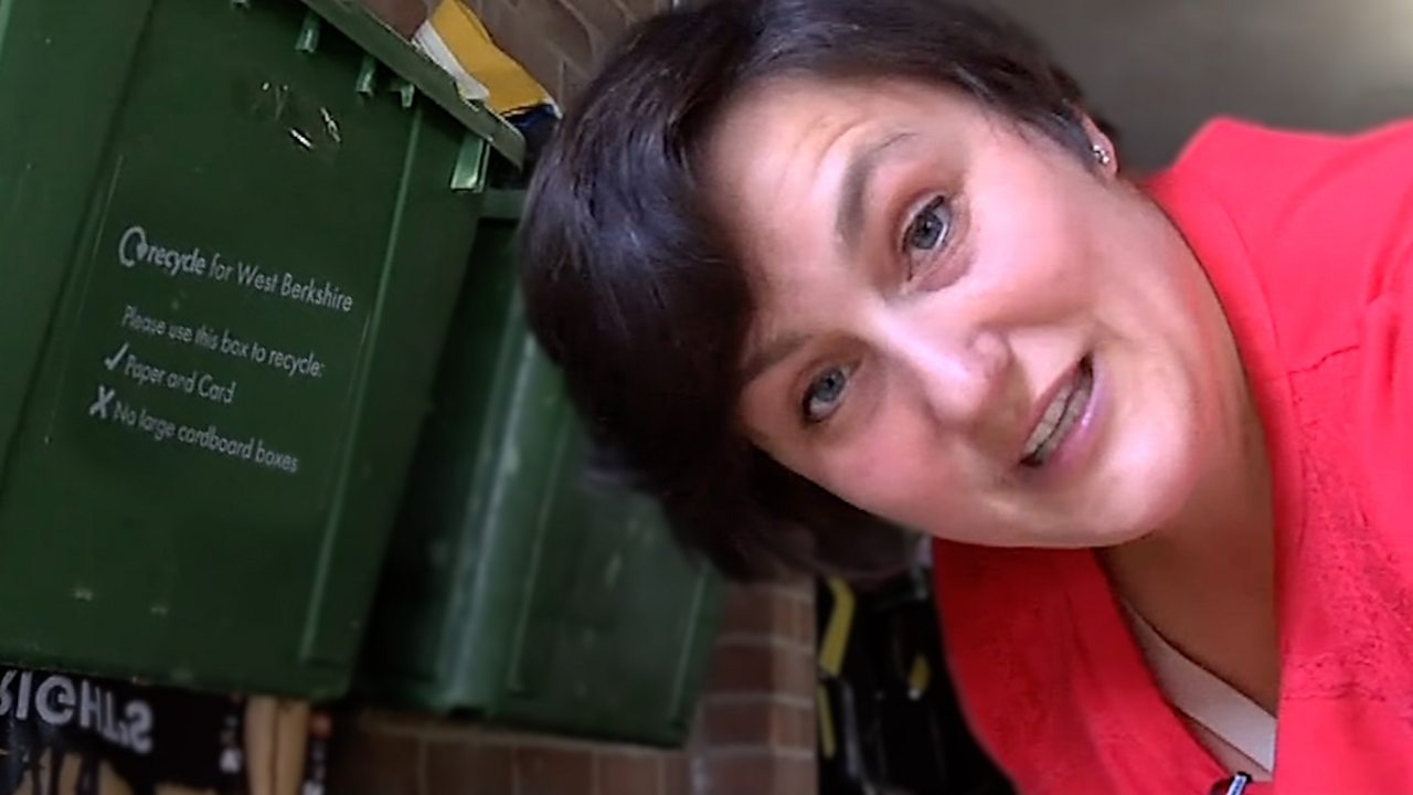 Recycling rubbish enables Jana Little to help dog charity