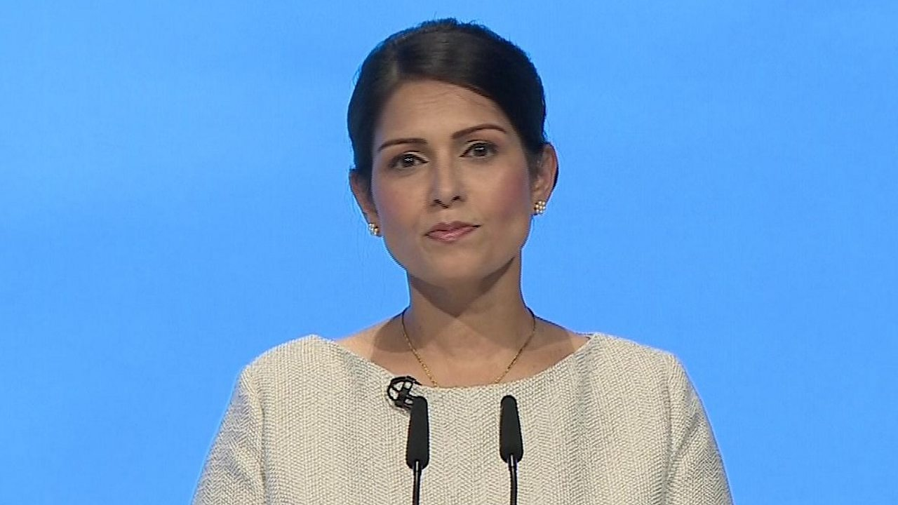 Priti Patel: I will back police to tackle county lines gangs