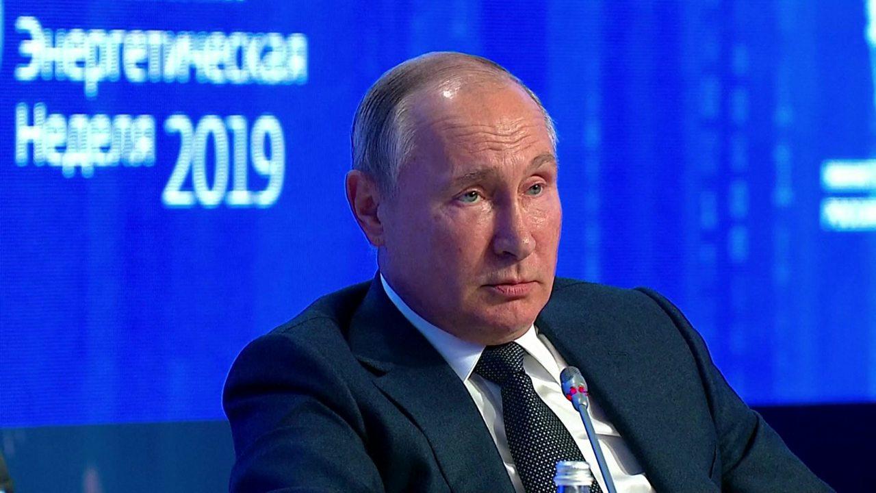 Vladimir Putin criticises Greta Thunberg's UN speech on climate change