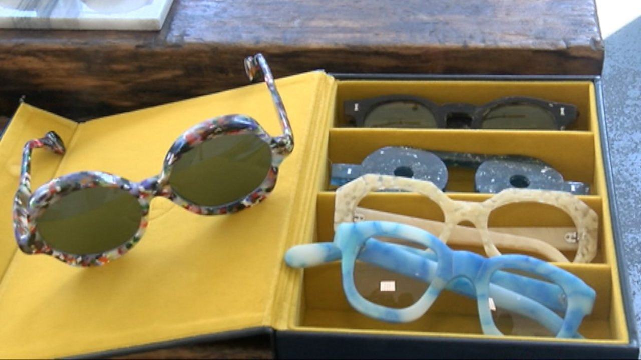 Plastic alternatives: Spectacle frames made from waste material