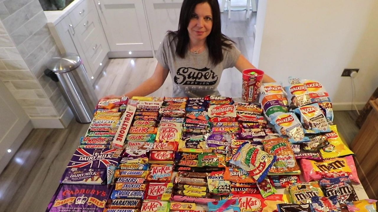 Yorkshire woman collects limited edition snacks