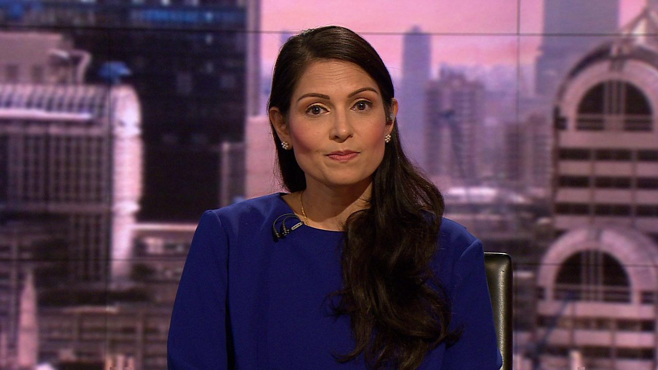 Priti Patel: 'Northern Ireland must not be treated differently over customs'