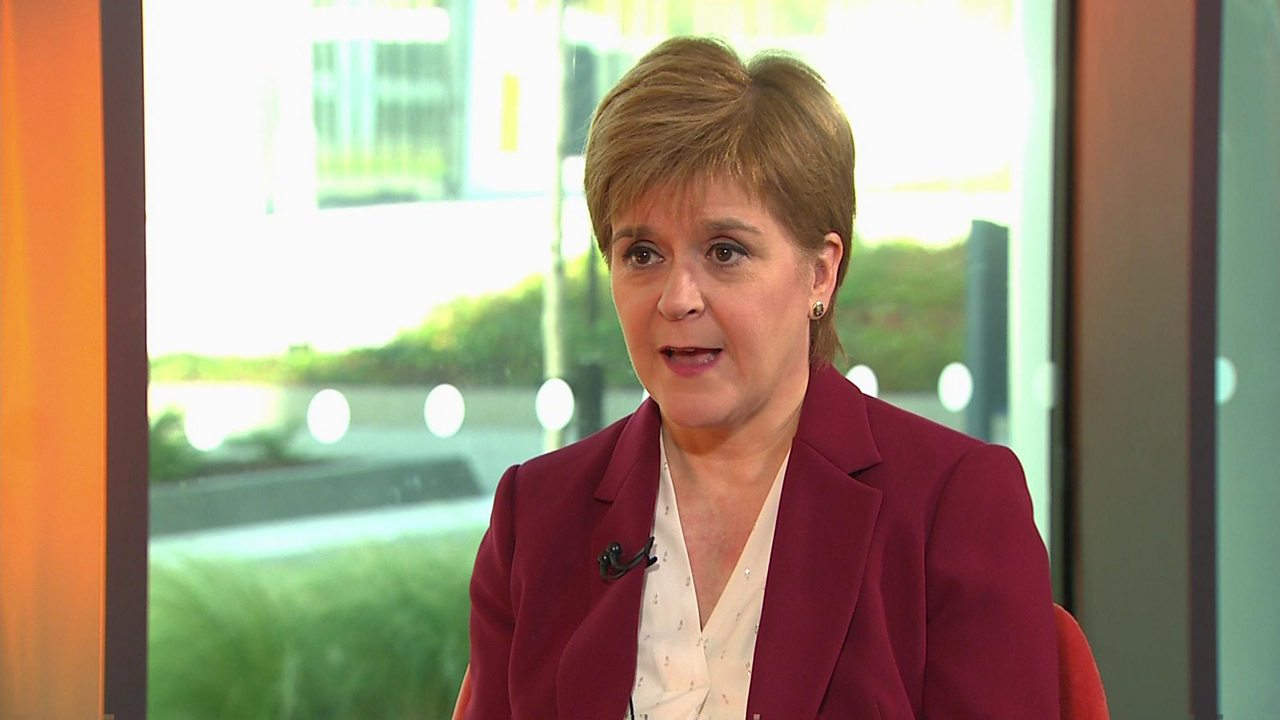 Nicola Sturgeon on indyref2 and a Scottish border