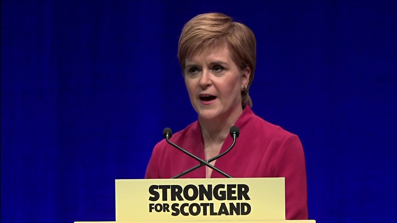 Sturgeon: SNP 'will demand indyref powers by new year'