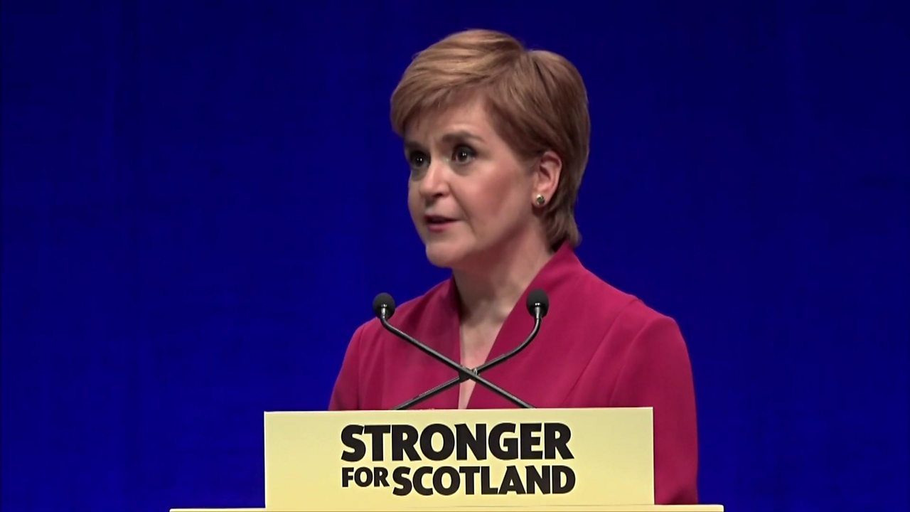 Nicola Sturgeon's SNP conference speech: 'Independence referendum must happen next year'