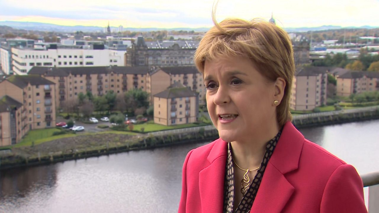 Nicola Sturgeon: 'It's hard to imagine a worse Brexit deal'