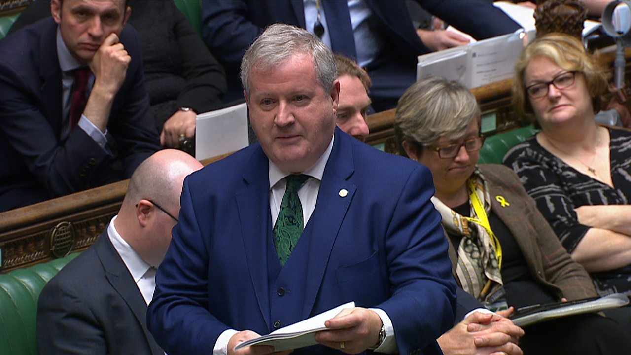 SNP's Ian Blackford: 'Scotland has been totally and utterly shafted'