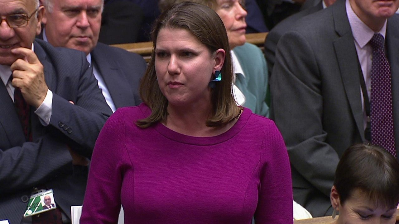 Jo Swinson: Lib Dem leader calls for PM to deliver Brexit letter
