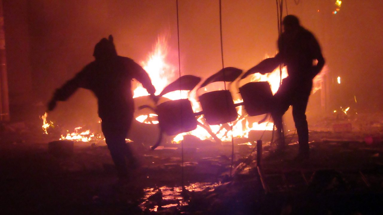 Bolivia election: Protesters set fire to ballot boxes amid result confusion