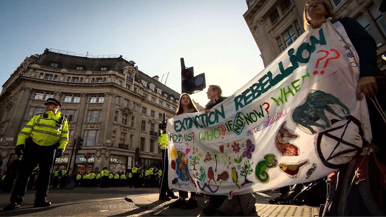 Extinction Rebellion: 'I'm really scared about what the future will hold'