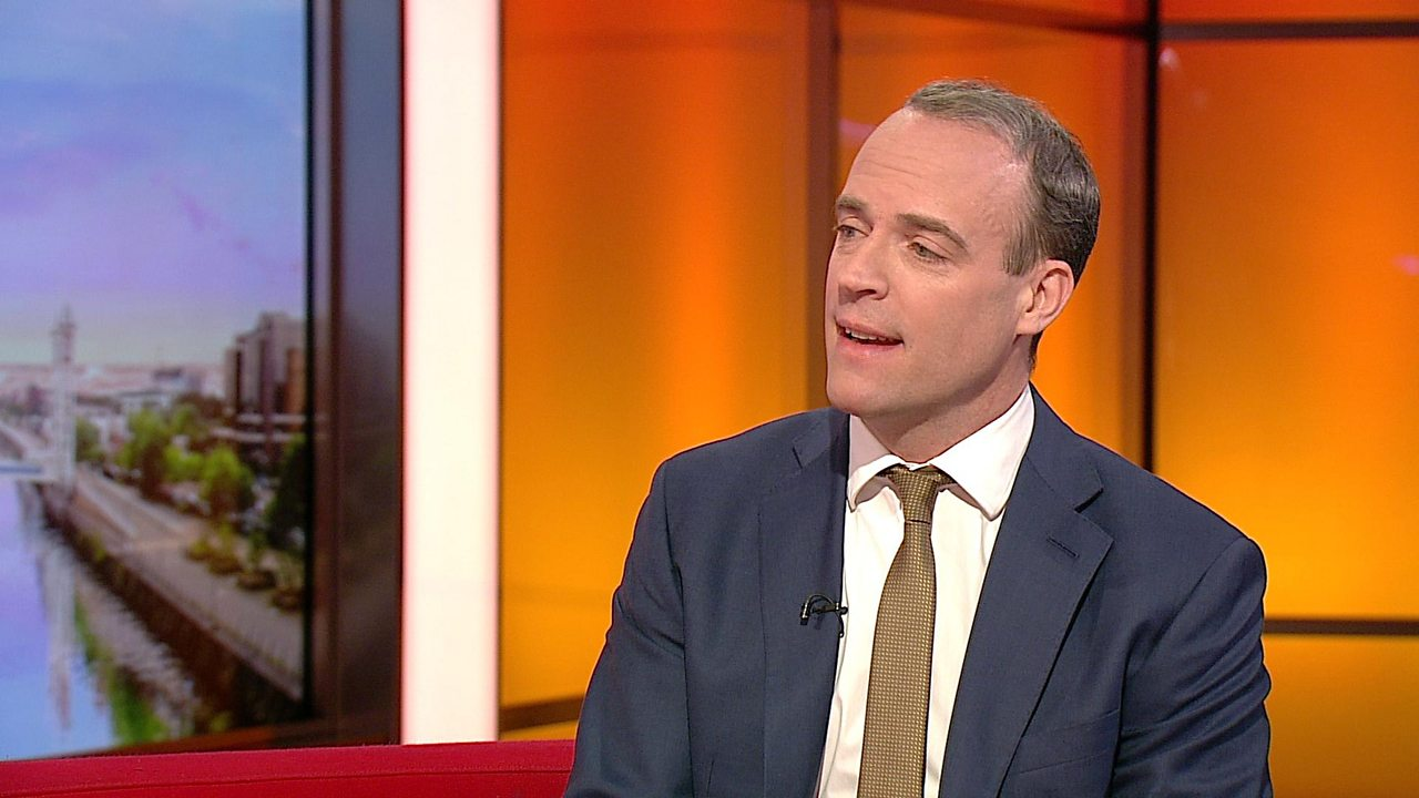Dominic Raab on 'factcheckUK': 'No-one gives a toss about social media cut and thrust'