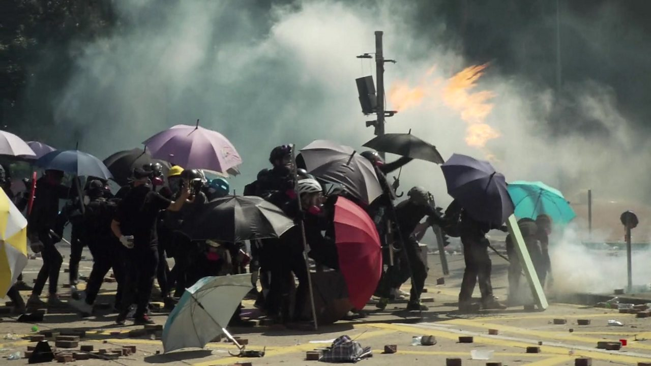 Hong Kong protests: Teenage protesters grappling with 'collective trauma'