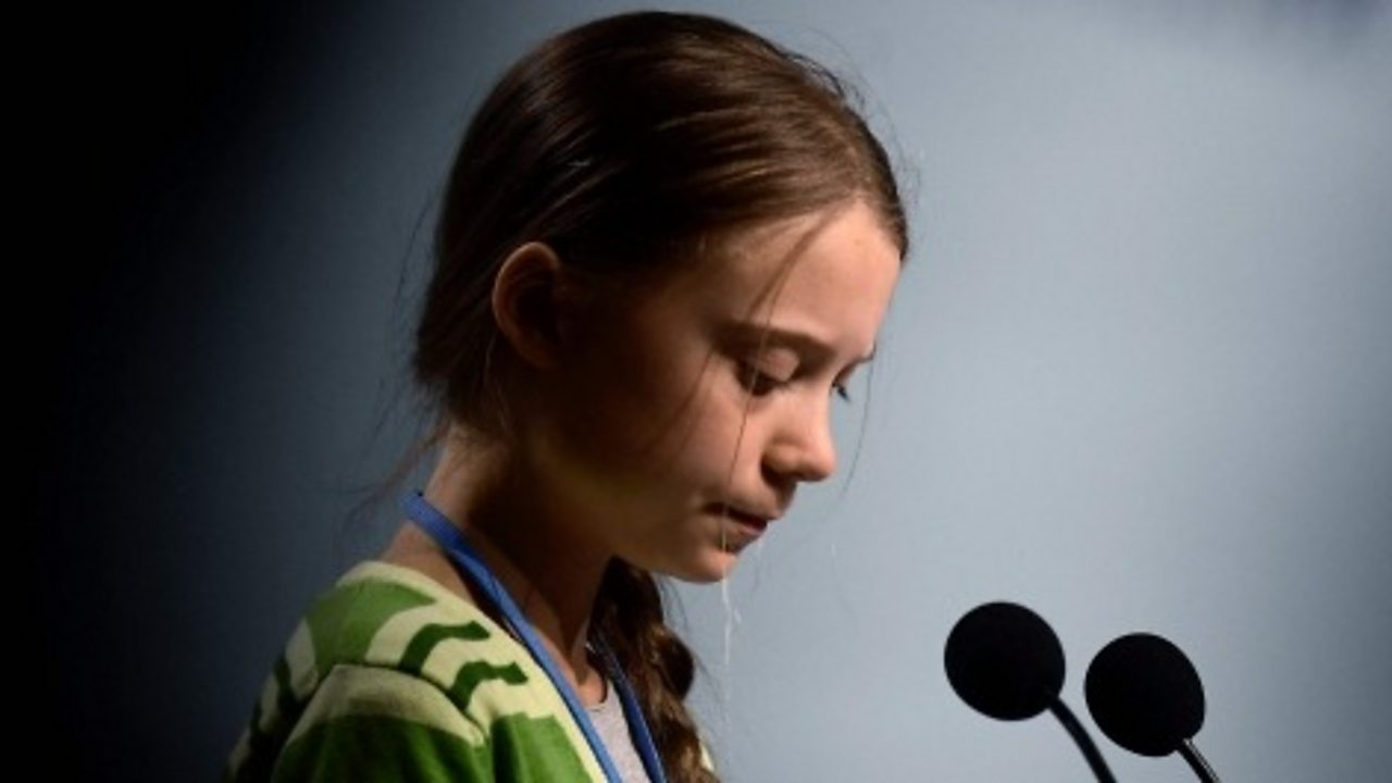 Greta Thunberg : 'Almost nothing is being done'