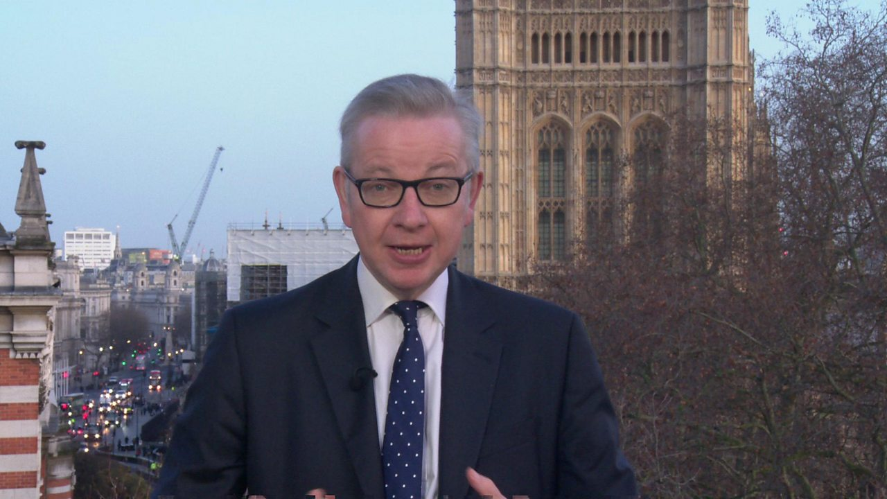 General election 2019: 'Most important election in my lifetime' - Gove