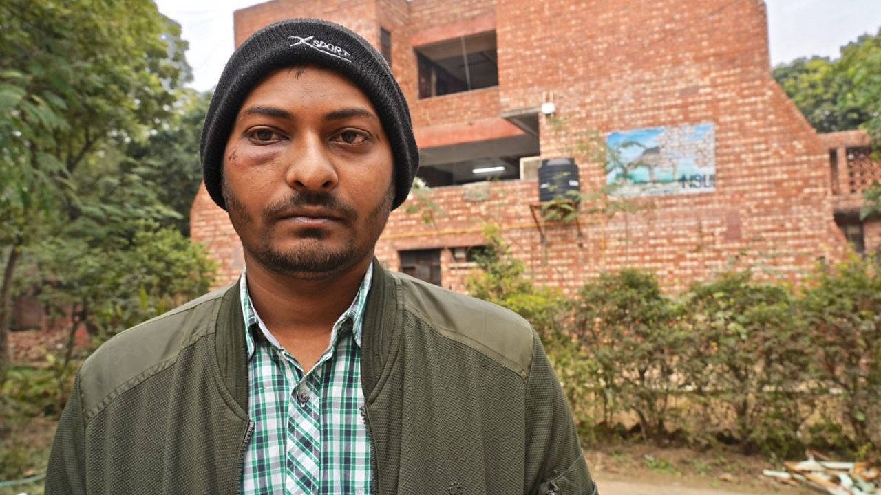 India university attack: 'Students fell to the ground... they kept beating'