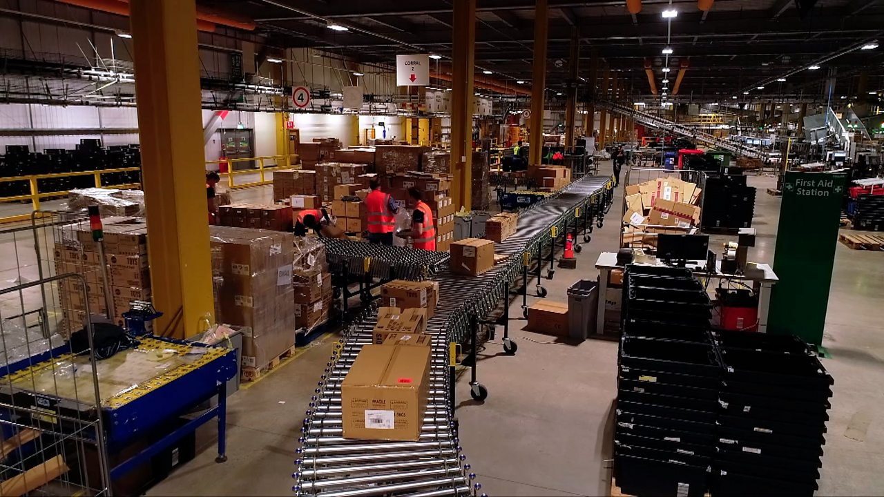 Amazon warehouse one of Europe's 'most high-tech buildings'