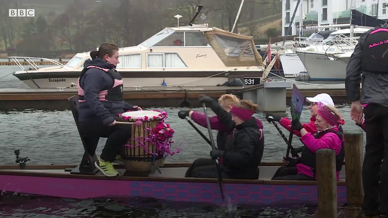 Dragon boating: The ancient sport helping breast cancer survivors