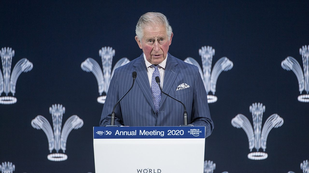 Davos 2020: Prince Charles offers stark warning over 'approaching catastrophe'