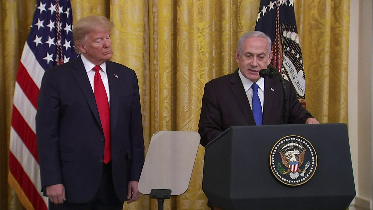 Netanyahu: Trump Middle East peace plan 'deal of the century'