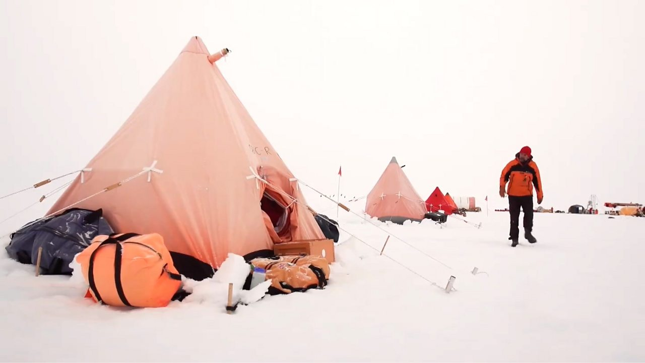 Could you handle the most remote campsite on earth?