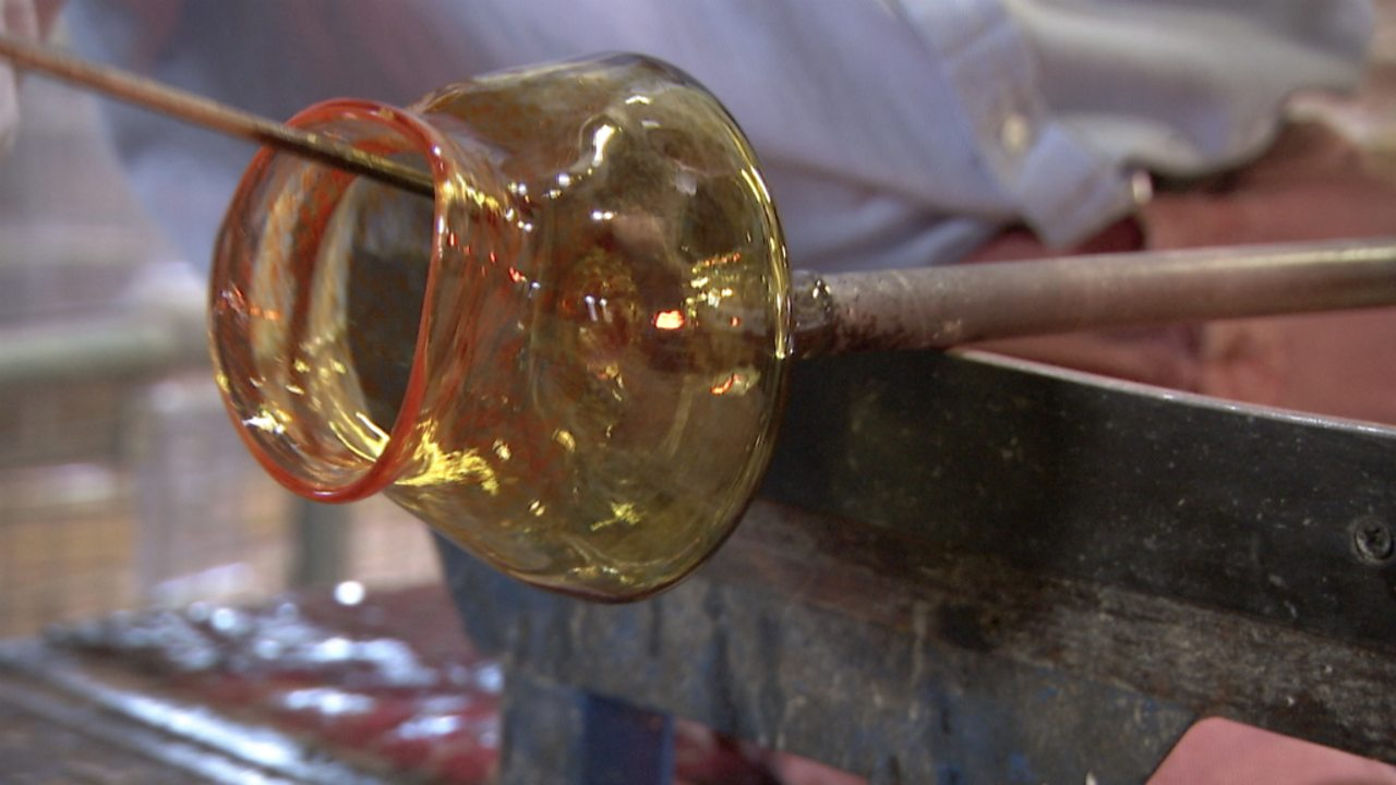 The craft of glass blowing