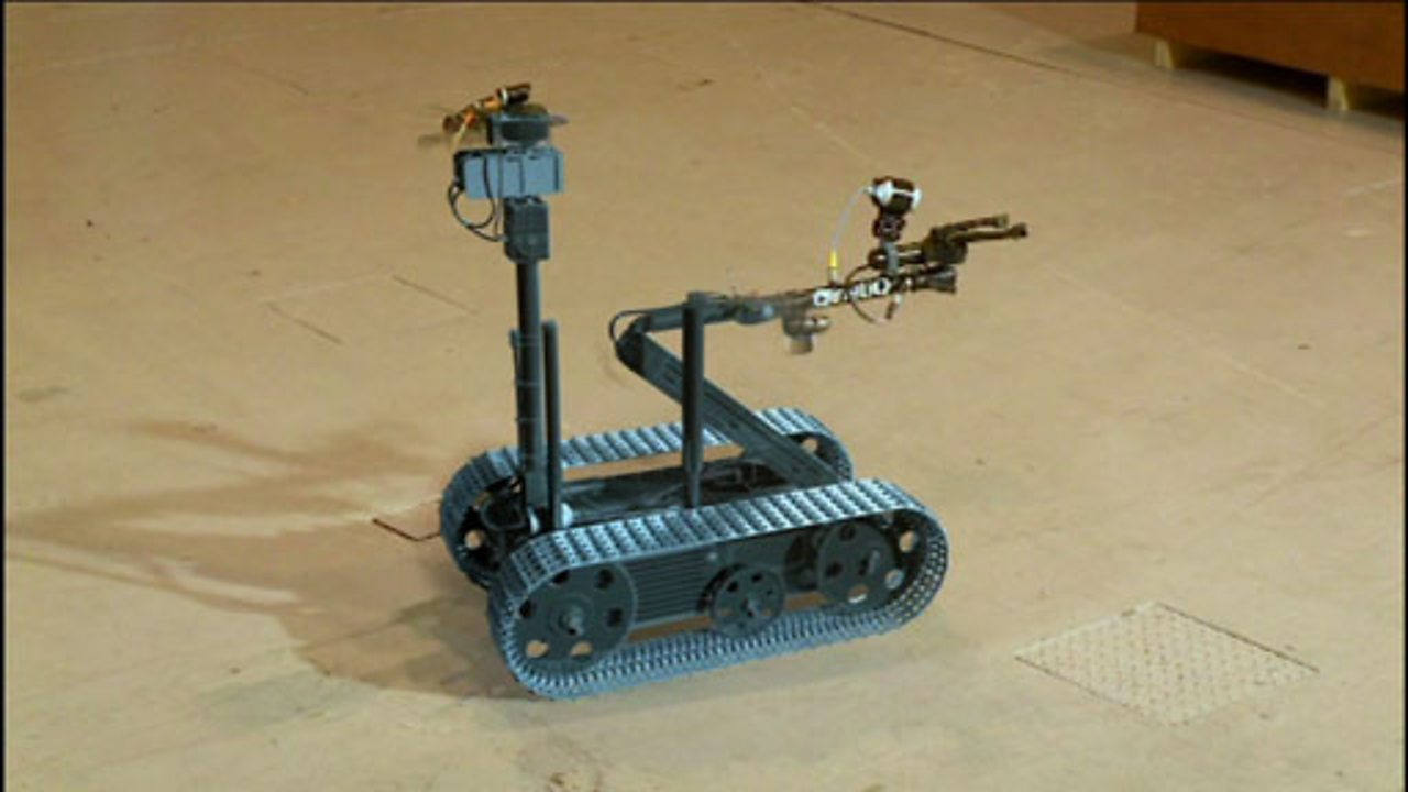 How robots are used in risky situations