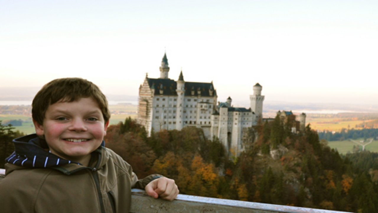 A child-led tour of Füssen in Bavaria