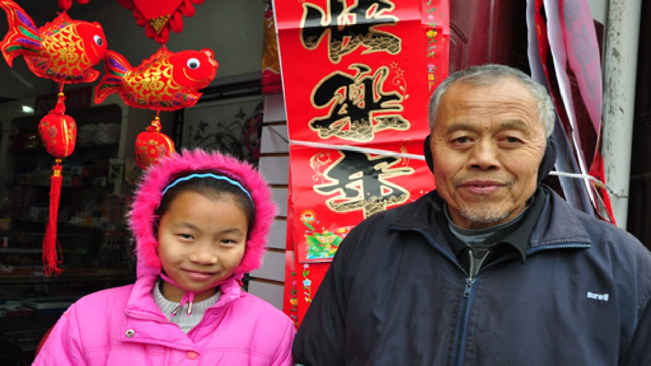 A child-led tour around Sandouping, in China
