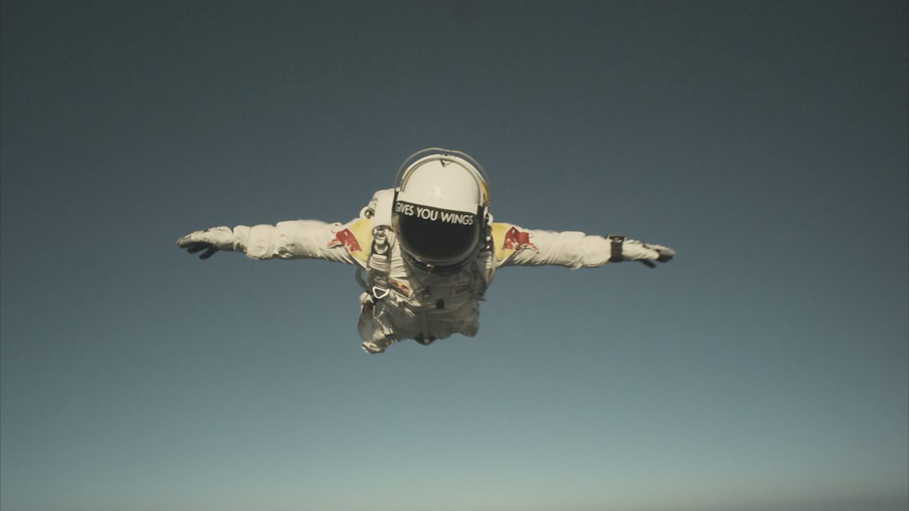 Physics KS3 / GCSE: The Science of Space Dive (pt 6/6) - Free-falling through the sound barrier