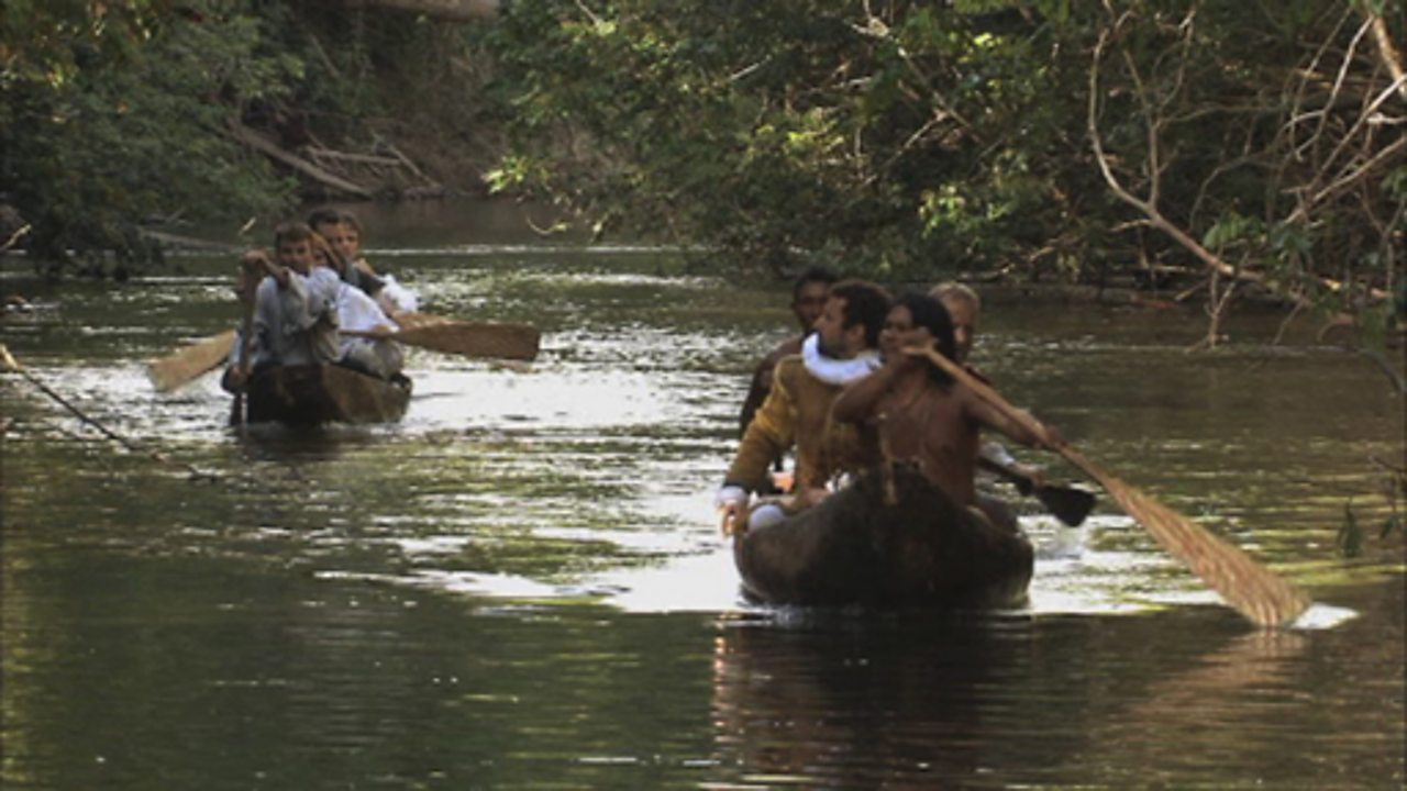 Expedition to Guyana - transportation for local tribespeople