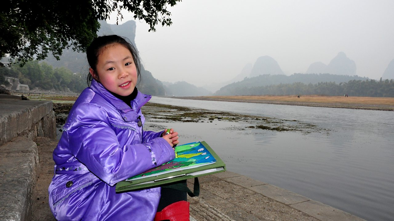 A child-led introduction to Yangshuo in Guangxi