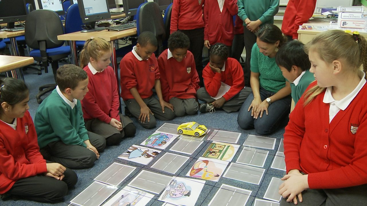 Computing KS1 / KS2: Programming a robotic toy car