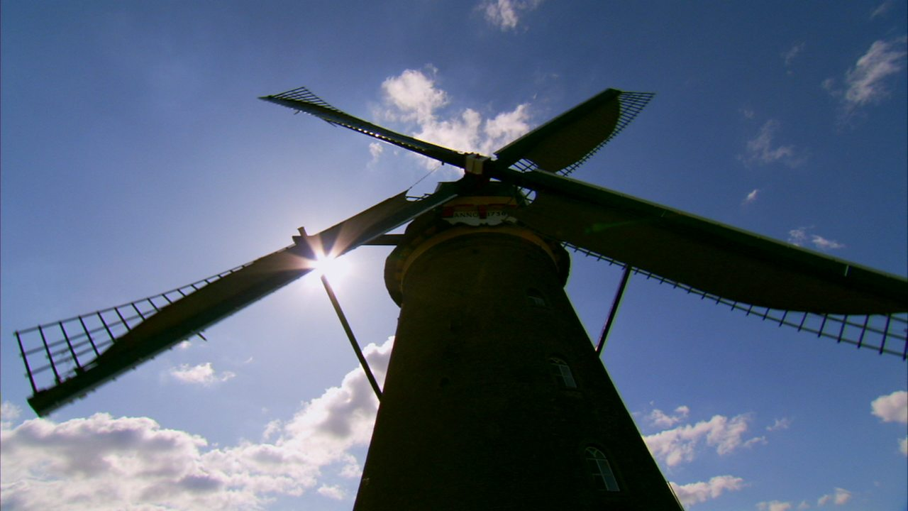 The invention of the turbine