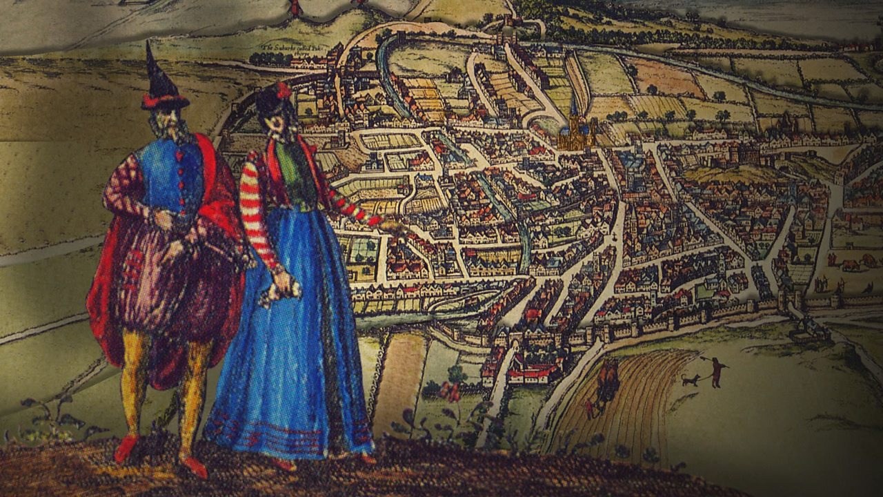 What was life like for the poor in the towns of Elizabethan England?