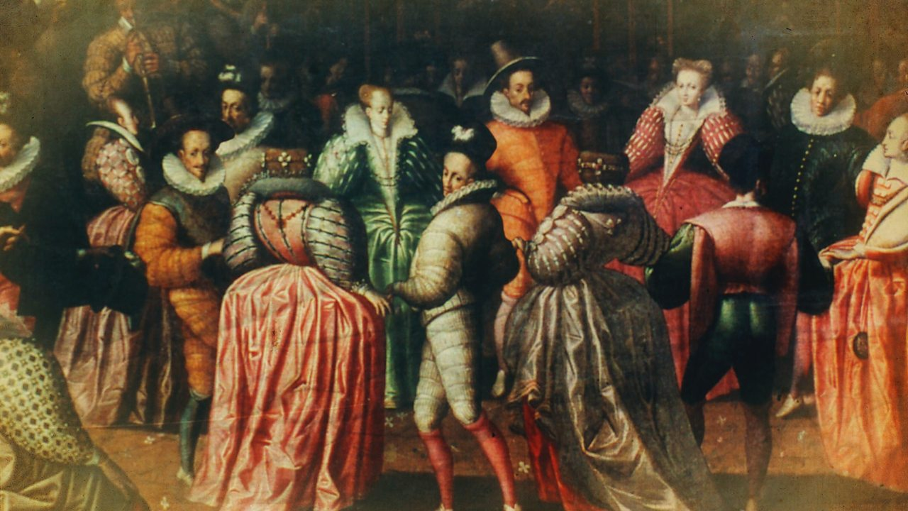 What was life like in the court of Elizabeth I?