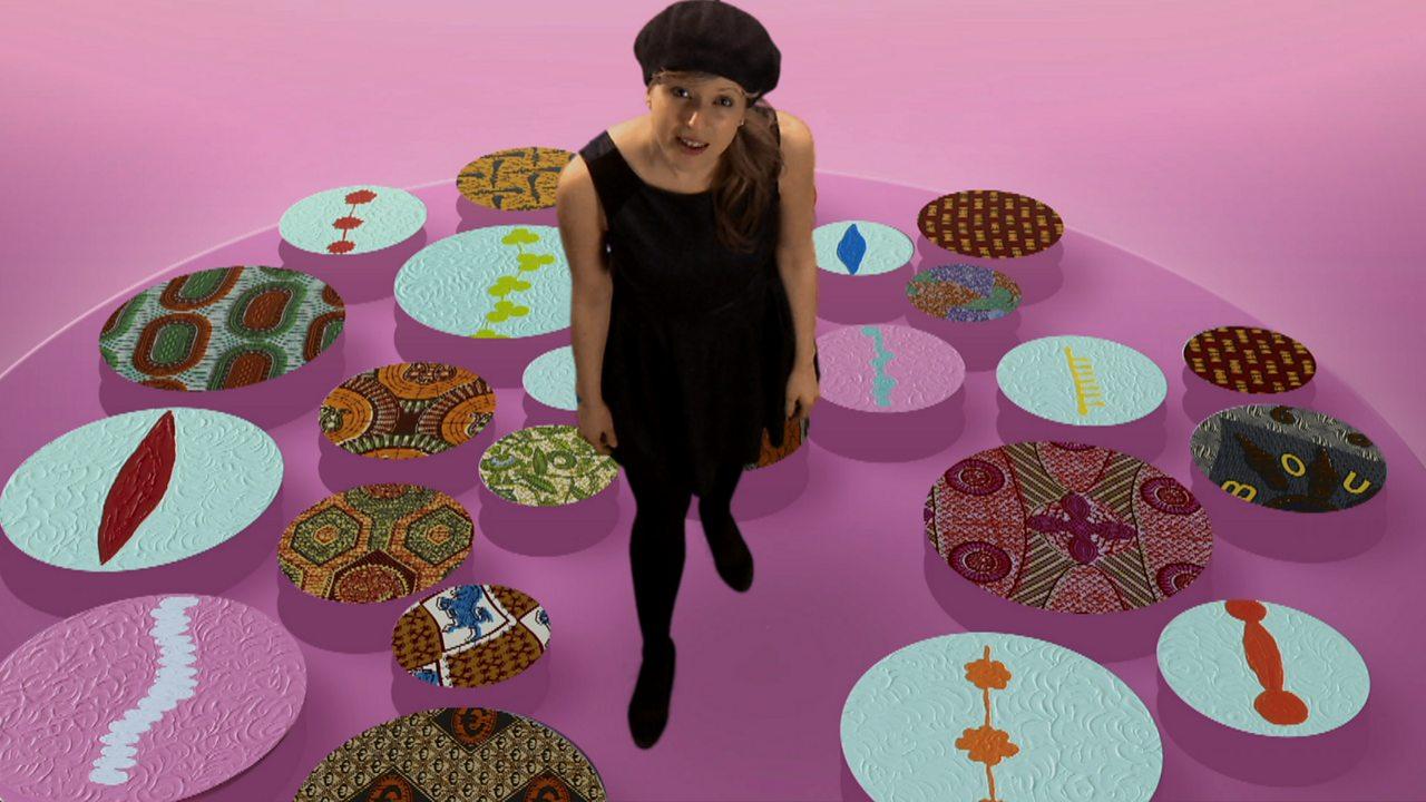 Yinka Shonibare's 'Line Painting'
