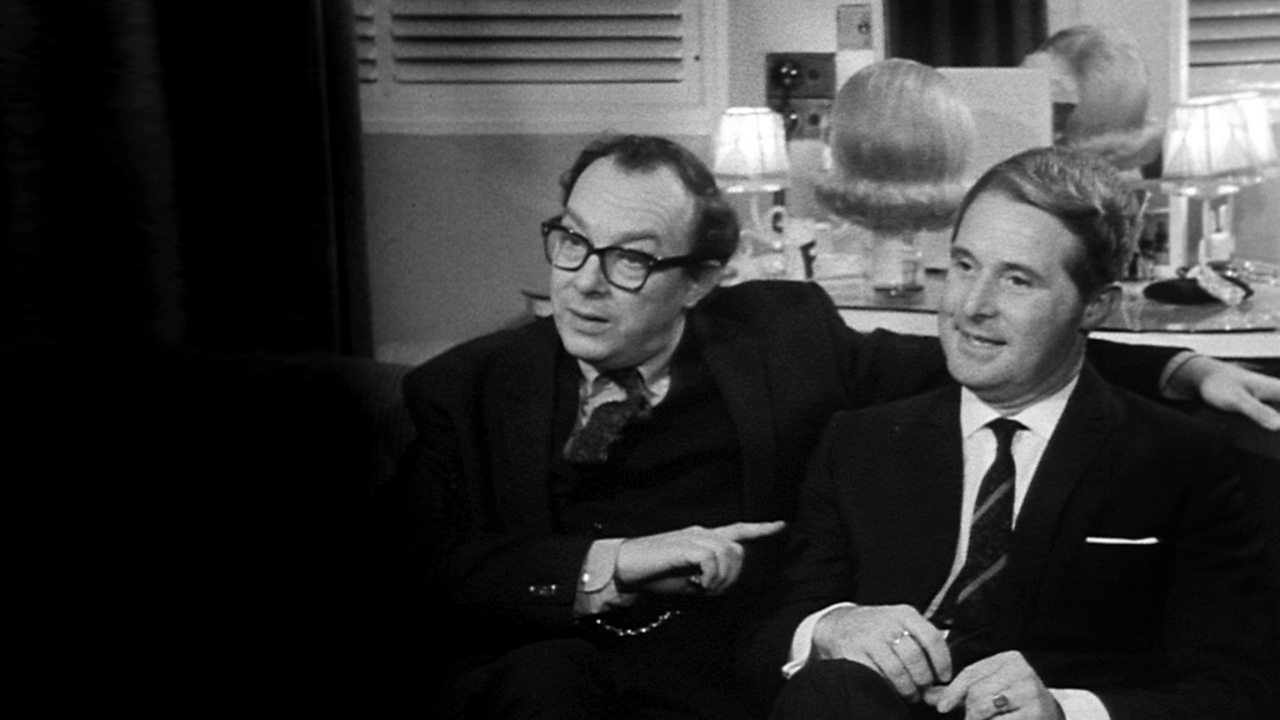 Morecambe and Wise on Late Night Line-Up, 1966