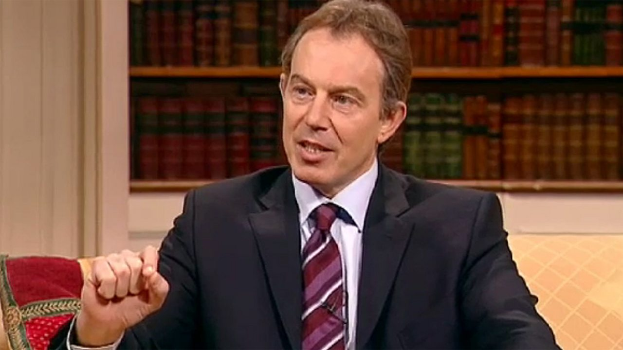 Breakfast with Frost - Tony Blair, 2003
