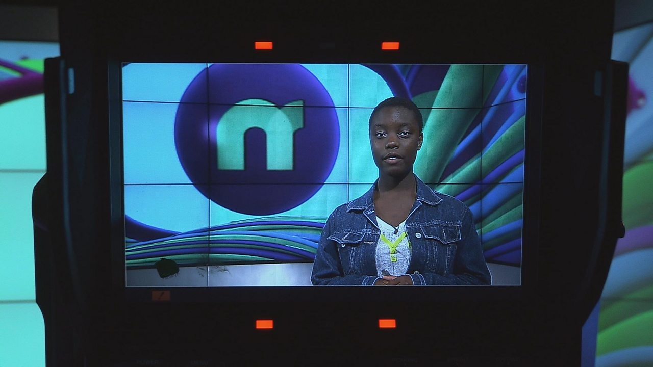 How to present Newsround
