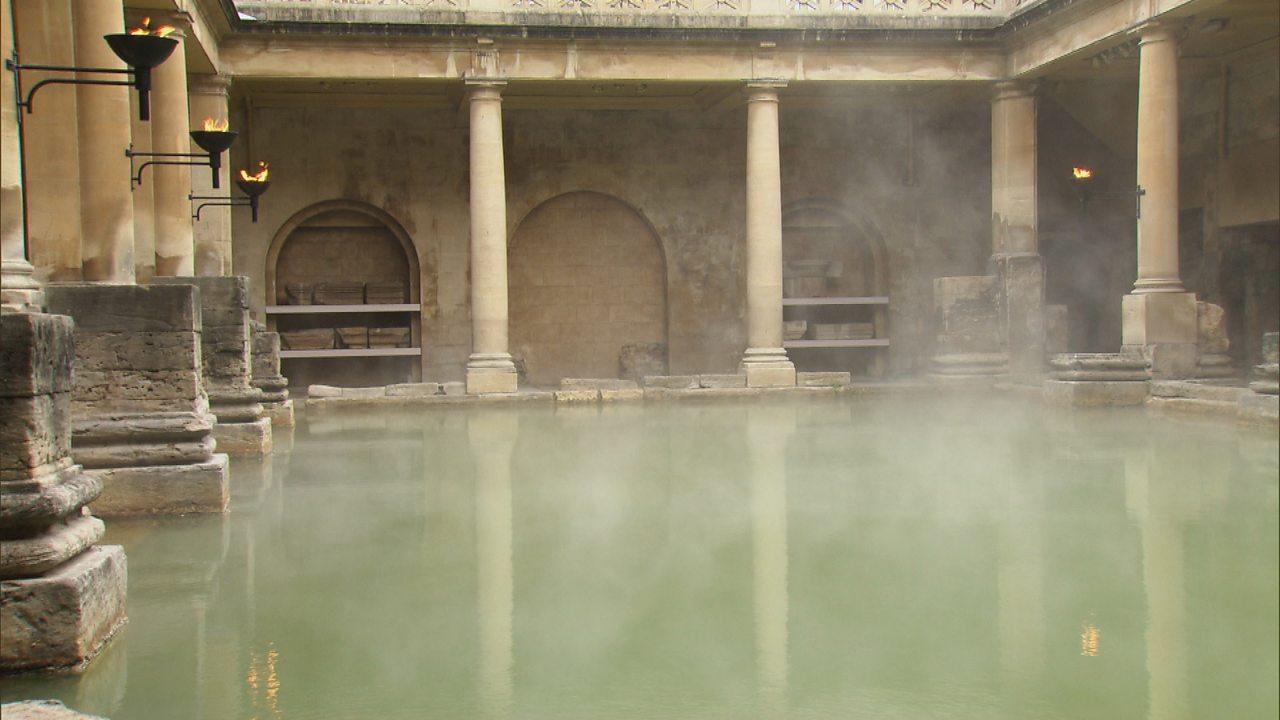 Public baths in Roman Britain