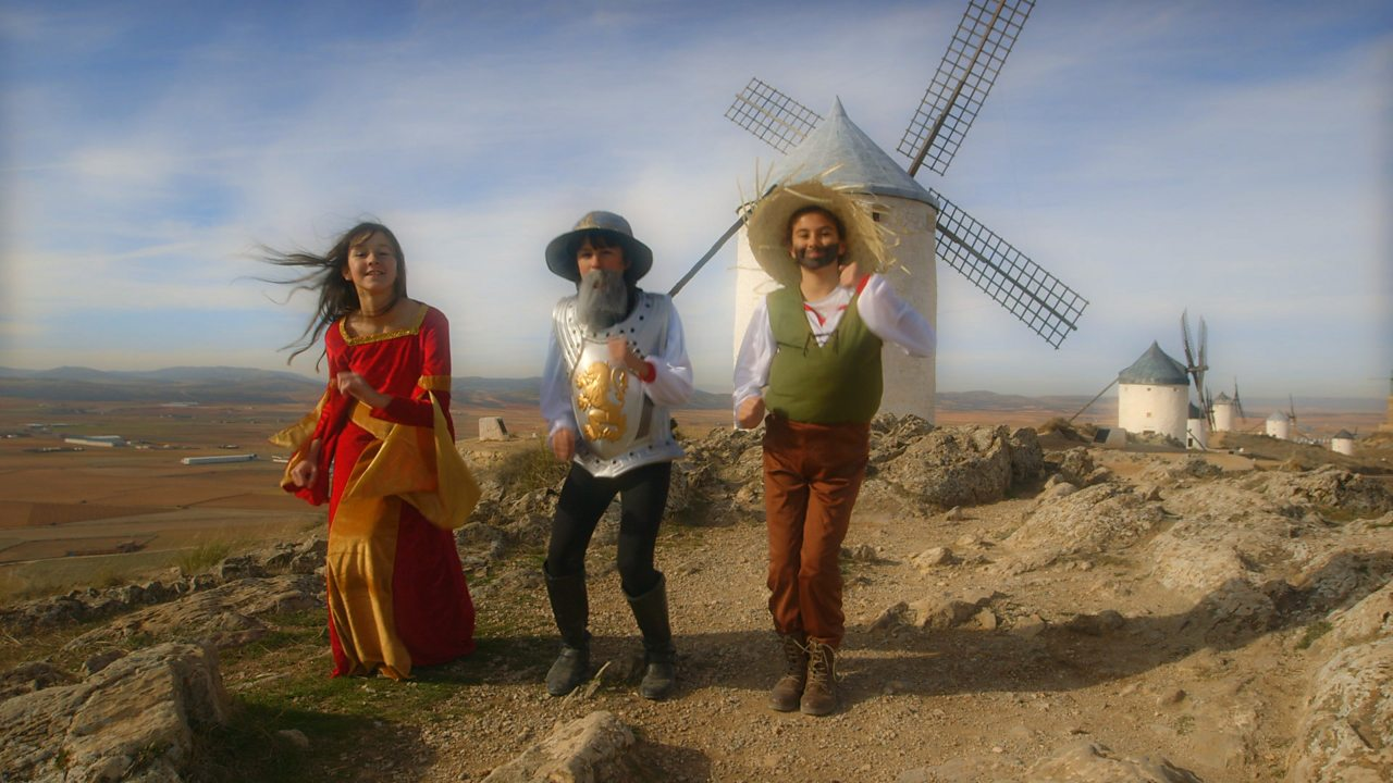 Spanish KS2: A song about 'Don Quixote'
