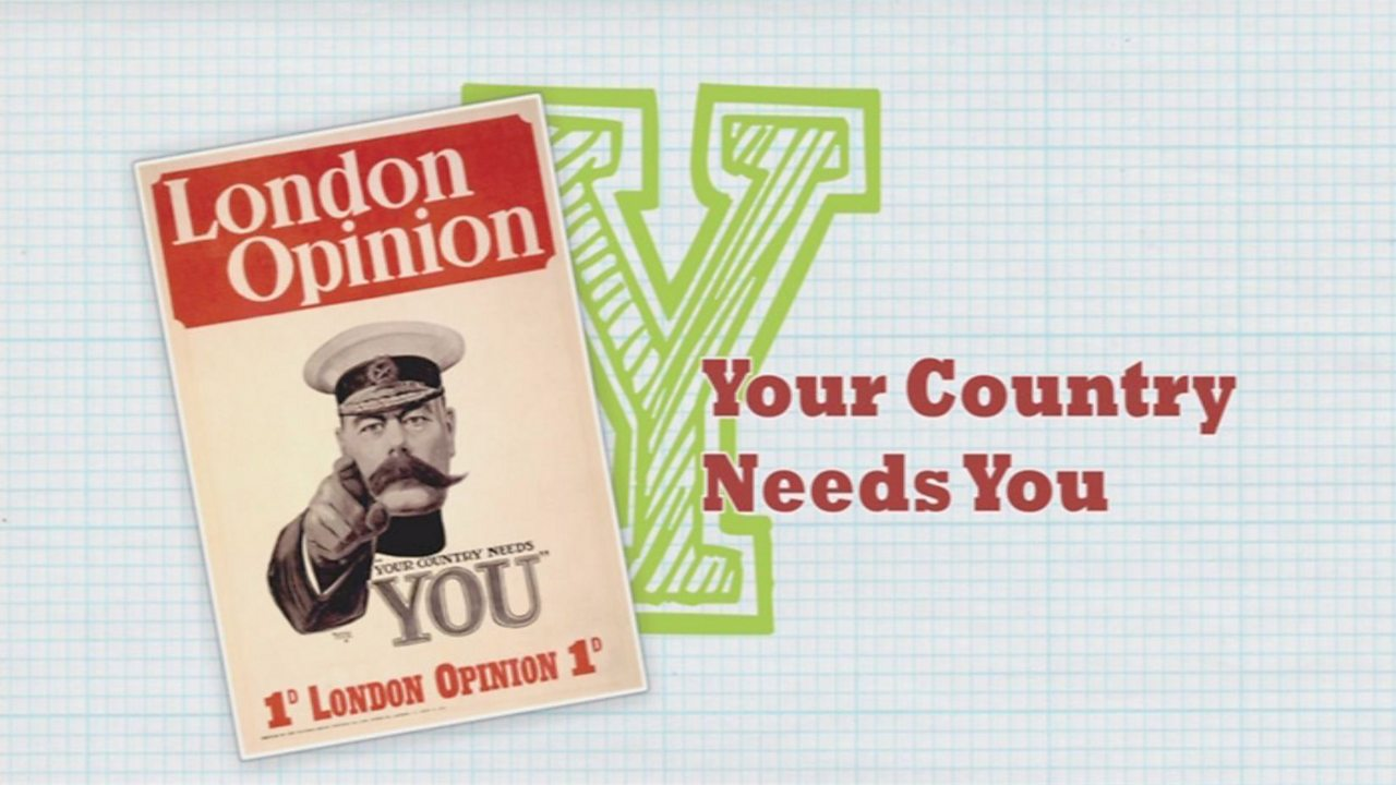 Y is for Your Country Needs You