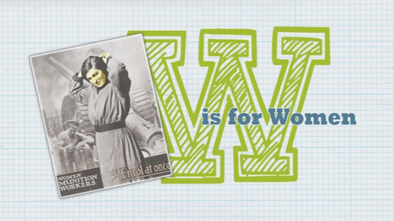 A to Z of WW1: W is for Women