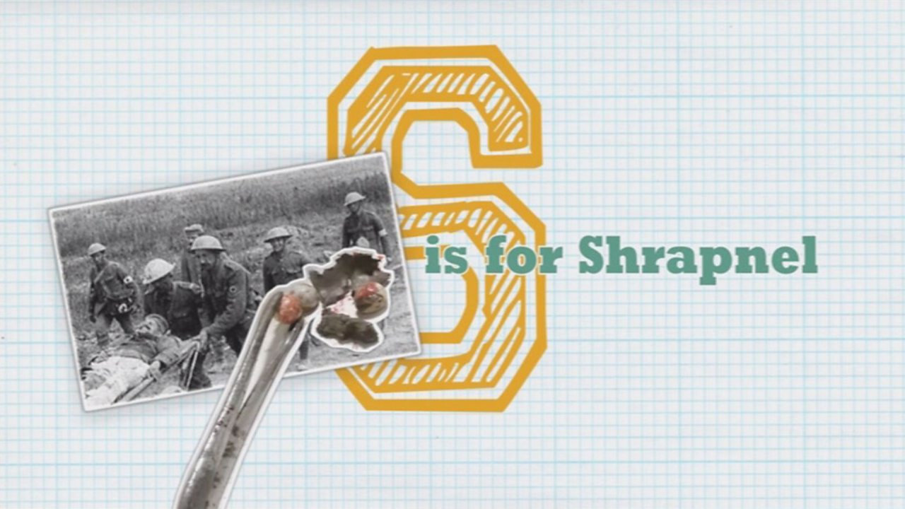 S is for Shrapnel